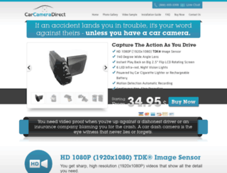 carcameradirect.com screenshot