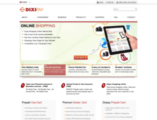 card.dixipay.com screenshot