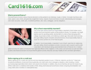 card1616.com screenshot