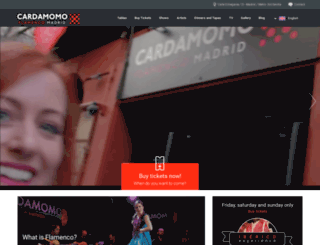 cardamomo.es screenshot