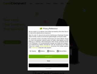 cardcompact.com screenshot