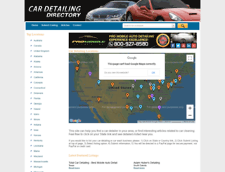 cardetailingdirectory.com screenshot