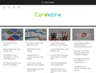 cardezine.com screenshot