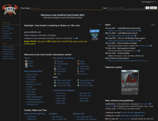 cardhuntria.com screenshot