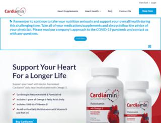 cardiamin.com screenshot
