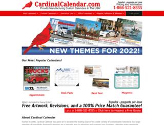 cardinalcalendar.com screenshot