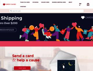 cardsforcauses.com screenshot