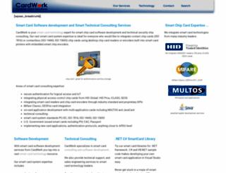 cardwerk.com screenshot