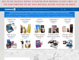 cardworksplus.com screenshot