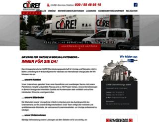 care-umzuege.org screenshot