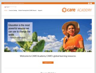 careacademy.org screenshot