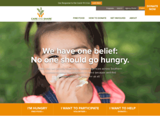 careandshare.org screenshot
