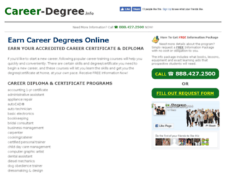 career-degree.info screenshot