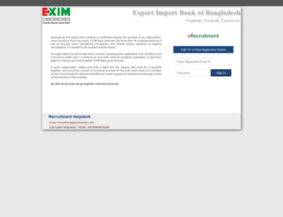 career.eximbankbd.com screenshot