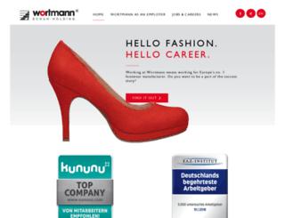 career.wortmann-group.com screenshot