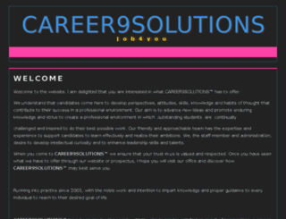 career9solutions.com screenshot