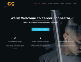 careerconnector.com.au screenshot