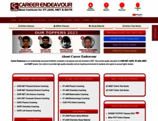 careerendeavour.com screenshot
