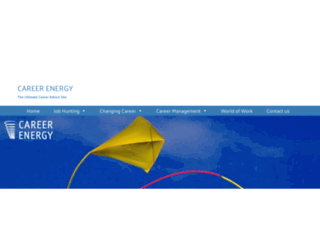 careerenergy.co.uk screenshot