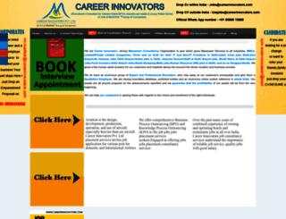 careerinnovators.com screenshot