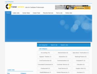 careerjamaica.com screenshot