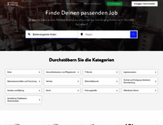 careerjobs.de screenshot