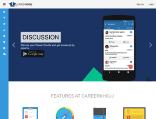 careerkhojj.com screenshot