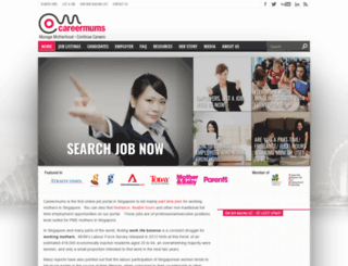 careermums.com.sg screenshot