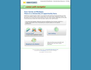 careernavigator.umjobs.org screenshot