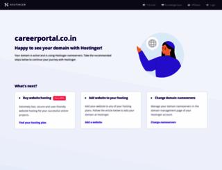 careerportal.co.in screenshot