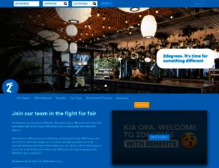 careers.2degreesmobile.co.nz screenshot