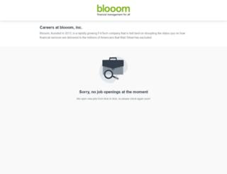careers.blooom.com screenshot