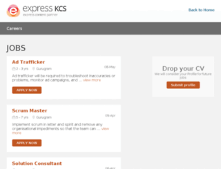 careers.expresskcs.com screenshot