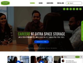 careers.extraspace.com screenshot