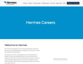 careers.hermes-europe.co.uk screenshot