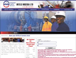 careers.intelservices.com screenshot
