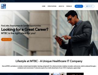 careers.mtbc.com screenshot