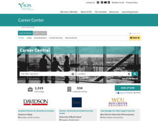careers.myacpa.org screenshot