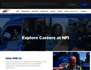 careers.nfiindustries.com screenshot