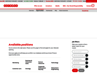 careers.ooredoo.com screenshot