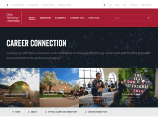 careers.owu.edu screenshot