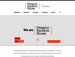 careers.randomhouse.com screenshot