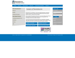 careers.rave.ac.uk screenshot