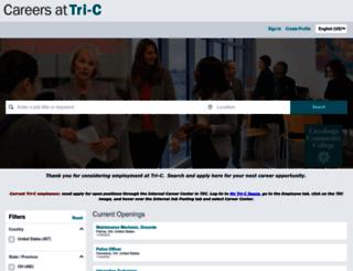 careers.tri-c.edu screenshot