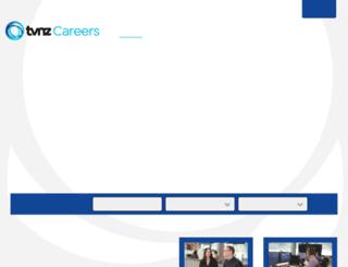 careers.tvnz.co.nz screenshot