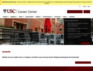 careers.usc.edu screenshot