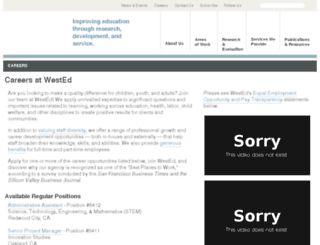 careers.wested.org screenshot