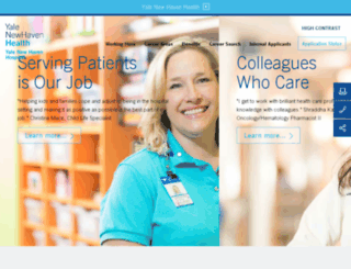 careers.ynhh.org screenshot