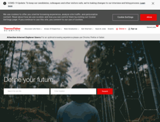 careersat.thermofisher.com screenshot