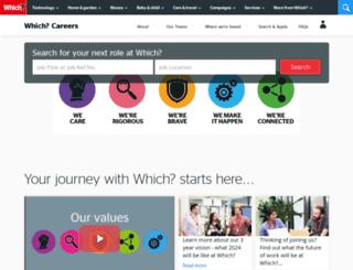 careersatwhich.co.uk screenshot